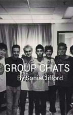 GROUP CHATS////\\\\\5SOS AND 1D by SoniaClifford