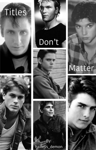 The outsiders x reader