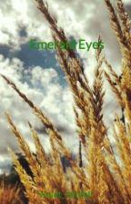 Emerald Eyes by violet_rainfall