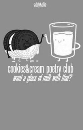 Cookies&Cream Poetry Club by smilesandfriendship
