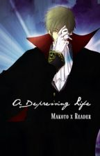 Makoto x Reader  A Depressing Life by TeacupLevi