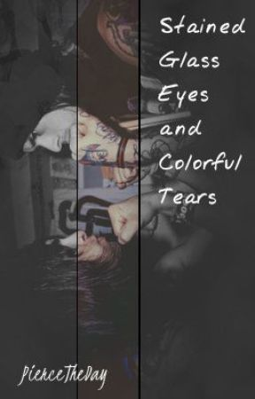 Stained Glass Eyes and Colorful Tears by PierceTheDay