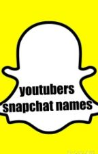 youtubers snapchat names by CalChaos