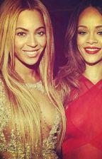 Rihanna And Beyonce by Chuot999