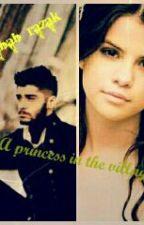 princess in the villeg by Rabab_Razak