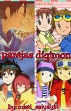 parejas digimon by misti_saiyayin