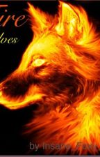 Fire Wolves by INSANE_Foxy_lover