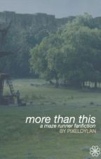 more than this ➳ the maze runner | thomas [1] by pixeldylan