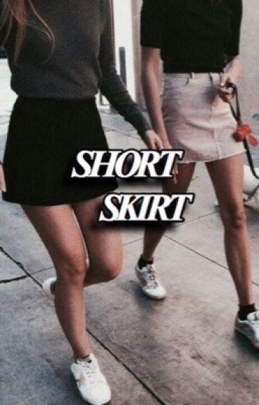 short skirt // luke hemmings