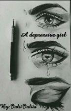 A depressive girl by IuliiIuliia