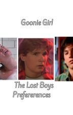 The Lost Boys Preferences by goonie-girl