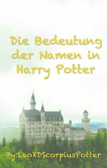 Die Bedeutung der Namen in Harry Potter