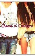 Cheese 'n' Crackers by viviolicia