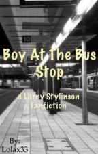 Boy at the bus stop || Larry Stylinson by niallswhisky