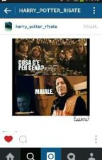Anche in Paradiso c'è il wifi ~ Harry Potter chat by gunsnfuckinrosees