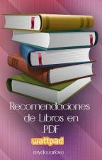 »Libros en .PDF {Recomendaciones} by mydeearlove
