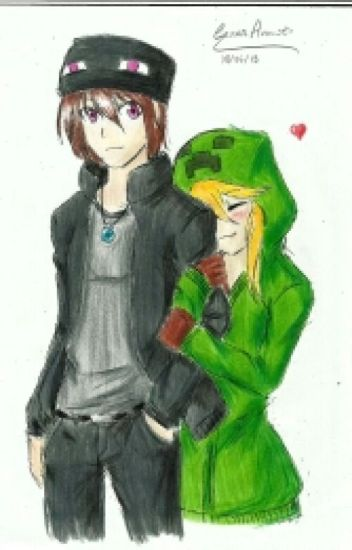 creeper x enderman friendship grows to love aidekayven wattpad