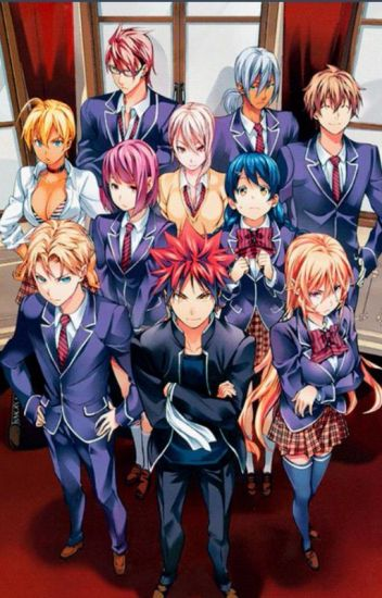 Shokugeki No Soma x Readers
