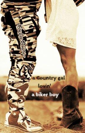 a Country gal lovin' a biker boy by SweetyHeart