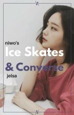 ice skates & converse | jelsa by -niwo-