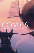comics ✾ c.h. by tooturntcalum