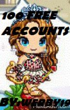 100 free accounts by Werby19