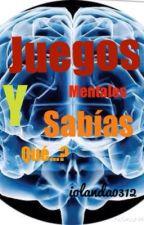Juegos Mentales y Sabias Que...? by iolanda0312