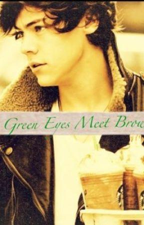 Green Eyes Meet Brown by A_Broken_Heart