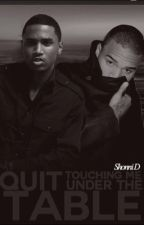 Quit Touching Me Under the Table : CBxTS (boy×boy) Wattys 2016 by -LegendaryShonzi-