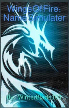 Wings Of Fire Name Generator