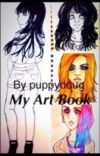My Art Book by puppydoug
