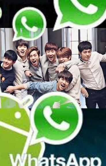 Aventuras de Infinite en Whatsapp