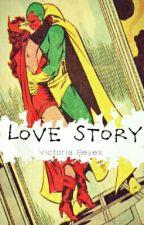 Love Story - Wanda y Visión by Victoria_Reyes14