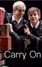 Carry on, Potter.  by shipperxgirl