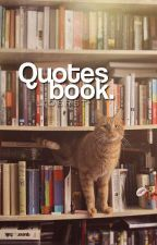 Quotes Book by lioerst-
