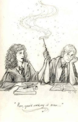 ron and hermione.  - fanfiction