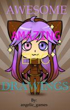 Angel's Book of Random Drawings by dat_one_angel