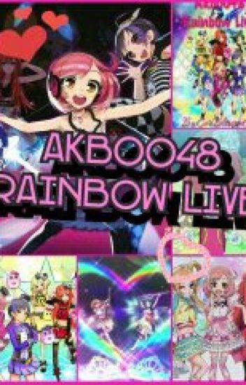 AKB0048 Rainbow Live