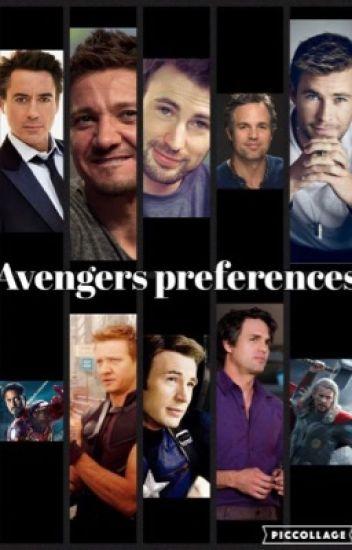 Avengers prefrences