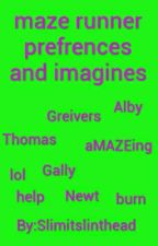maze runner imagines and prefrences before and during the maze by slimitslinthead