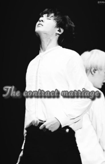 The contract marriage(BTS fan-fiction)