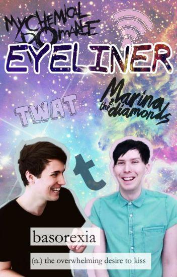Eyeliner ➳ Phan