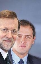 M. Rajoy y Albert Rivera: El pacto by Atenrev