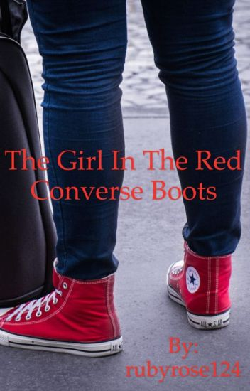 The girl with the red converse boots