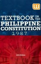 Philippine Constitution 1987 by mystheme
