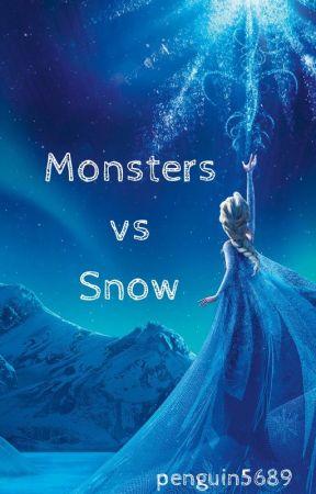 Monsters vs Snow by penguin5689