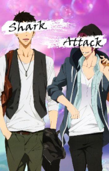 Shark Attack [Rin x Cross-dressing!Reader x Sousuke]