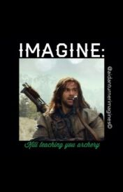 IMAGINE: Kili teaching you archery by Aidanturnerimagines