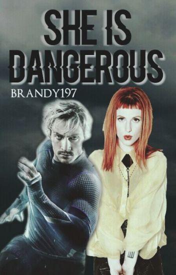 She is dangerous (Pietro Maximoff)