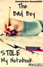 The badboy stole my notebook (Dutch) by kittenloveee